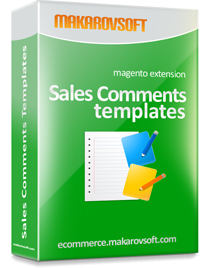 Sales Comments Templates for Magento 2