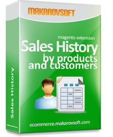 Magento 2 – Sales History Extension