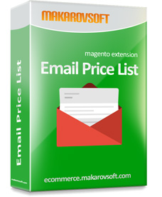 Email Price List Magento Extension