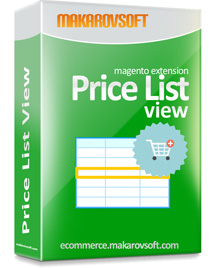 Category Page As Price List – Magento 2