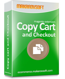 Copy cart and Checkout